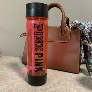 PINK water bottle with hidden compartment